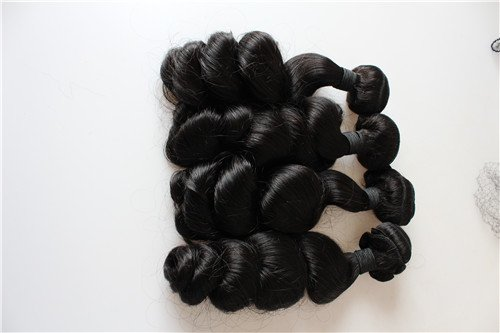 HairPR Hair 100% Chinese Virgin Human Hair Wefts 3 Bundles 10