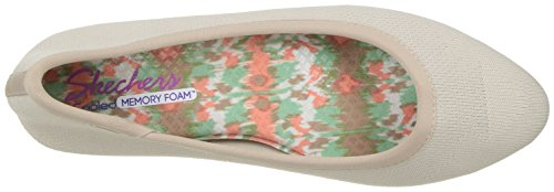 Skechers Womens Cleo Sass Ballet Flat Taupe
