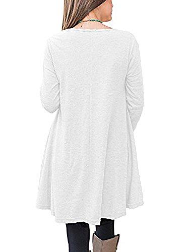 Beliebt Bevorzugt Minetom Damen Oversize Langarmshirt Große Größen Langarm Lang @VB_07