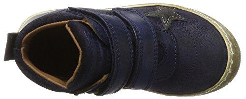 Bisgaard Klettschuhe, Zapatillas Altas Unisex Niños Blau (606 Blue)