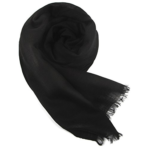(YANIBEST Pure 100% lamb wool Ultra Thin Scarf Womens Long Scarves Wraps)