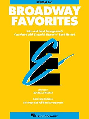 Essential Elements Broadway Favorites: Baritone B.C.