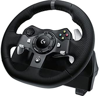 Logitech G920 Driving Force Ruedas + Pedales PC,Xbox One Negro ...