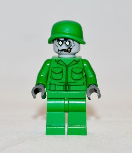 LEGO ZOMBIE ARMY MAN- Custom Minifigure