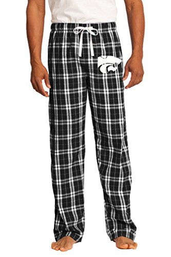 Broad Bay Kansas State Lounge Pants Pajama Bottoms Official K-State Lg