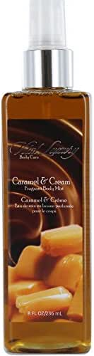 Vital Luxury Body Mist, Caramel and Cream, 8 Fluid Ounce
