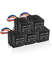 MGI SpeedWare 40 Amp Relay Harness Set SPDT with 5-Pin Socket