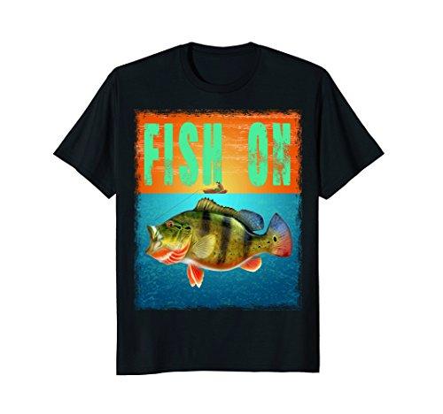 Fish On Peacock bass Fishing T Shirt