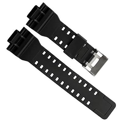 Natural Resin Replacement Watch Band Strap for Casio Mens G-Shock GD120/GA-100/GA-110/GA-100C