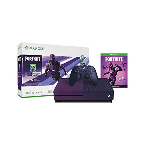 Xbox One S 1TB Console – Fortnite Battle Royale Special Edition Bundle (Renewed)