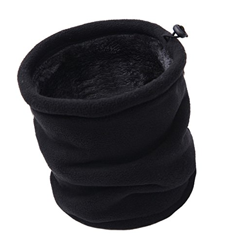Aiphamy Winter Warm Versatile Polar Fleece Neck Gaiter Neck Warmer Face Mask Beanie Hat Thermal Snowboarding Ski Wear, -