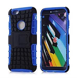 TOPMM RuTOPMMed Armor Spider 2 in 1 Combo Defender Hybrid Case Built-in Kickstand for iPhone 6 (Assorted colours) , Green