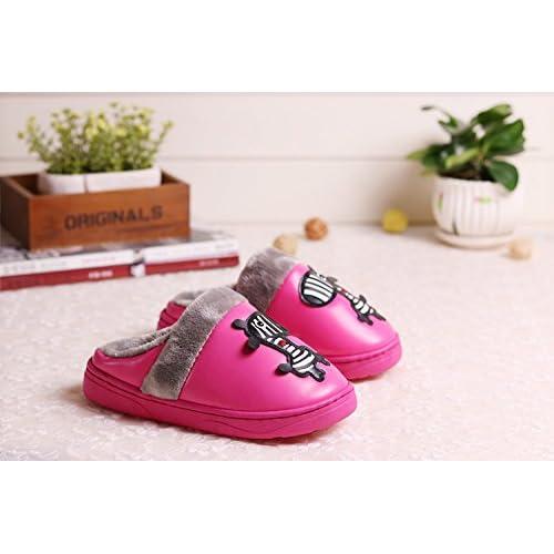 fa0f61ccf84b Fankou Children s coton chaussons hiver imperméable cartoon girls  soft