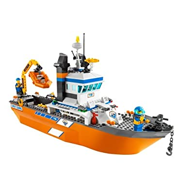 LEGO 7739 City Coast Guard Patrol Boat and Tower: Toys & Games