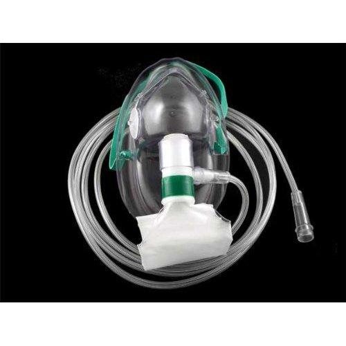 ADULT Non-Rebreather Oxygen Mask (full non-rebreather) AKA NRB, Individual mask Medsource International
