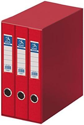 Dohe Oficolor - Módulo, 3 carpetas, folio, color rojo: Amazon.es ...