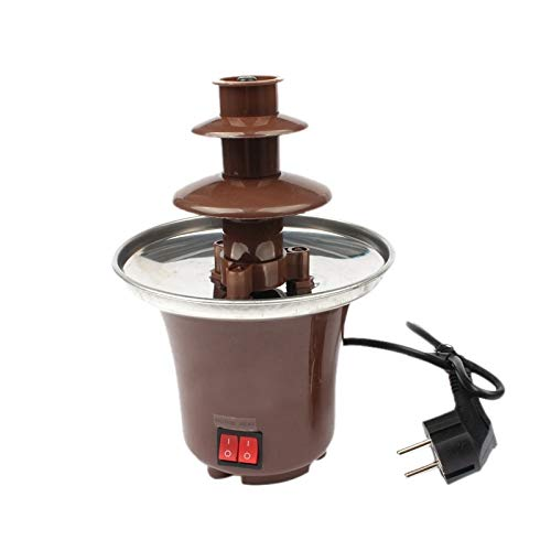Plug Mini Chocolate Fondue Chocolate Melting Machine Electric Stainless Steel Fondue Pot Dipping Dessert Fruits Butter