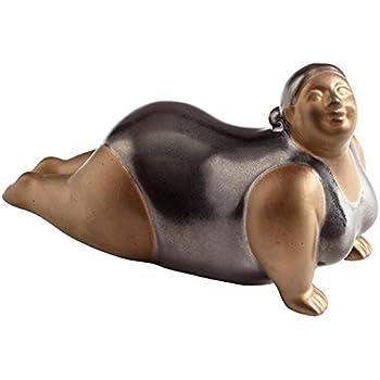 Amazon.com: CIAN diseño Yoga Sue Escultura Yoga Sue 3.75 ...