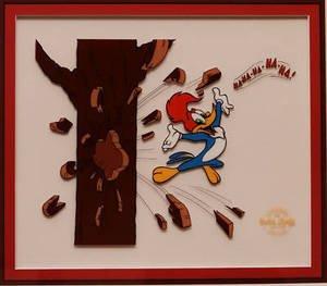Woody Woodpecker Art - WOODY WOODPECKER Cel Sericel