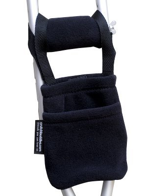 Black Crutch Pockets Pouches Buddies product image