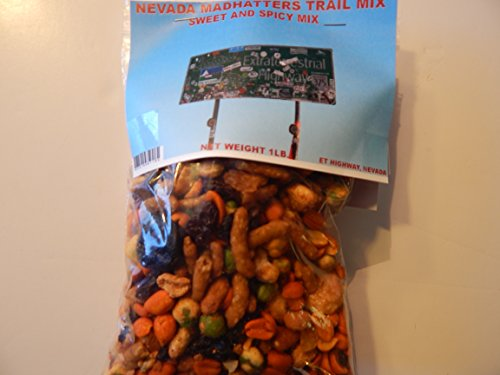 Nevada Madhatters 1lb. Sweet and Spicy Trail Mix