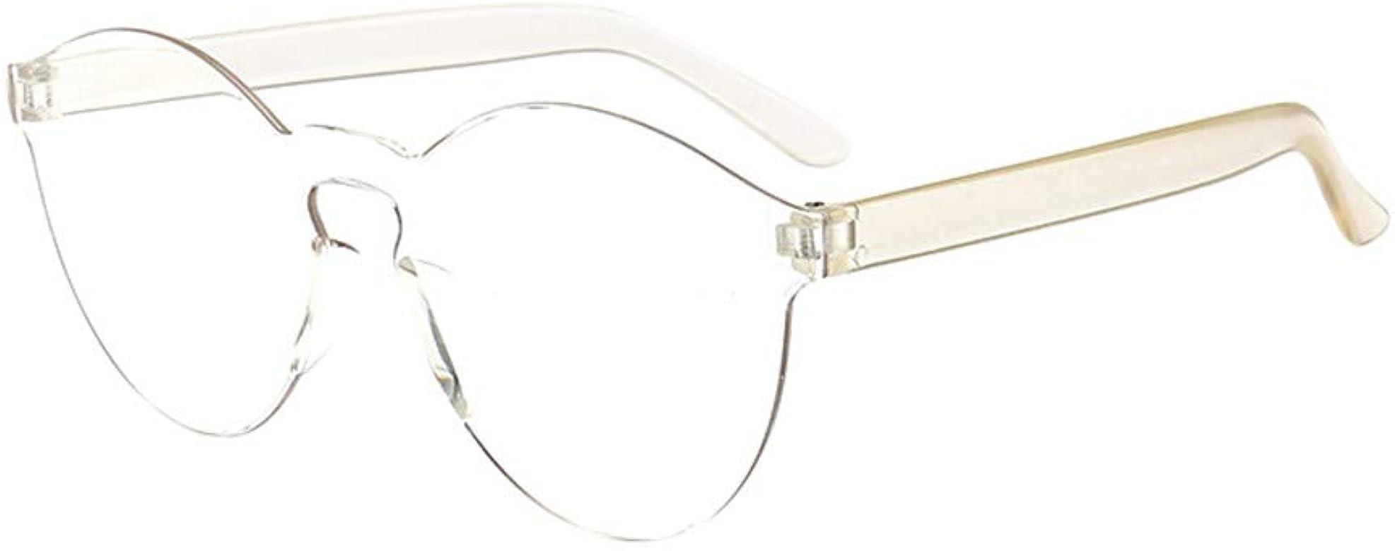 Gafas de sol vintage gafas de sol mujer transparent gafas de gafas al aire libre Sin
