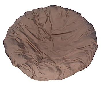 Charming Brown Papasan Cushion Cover