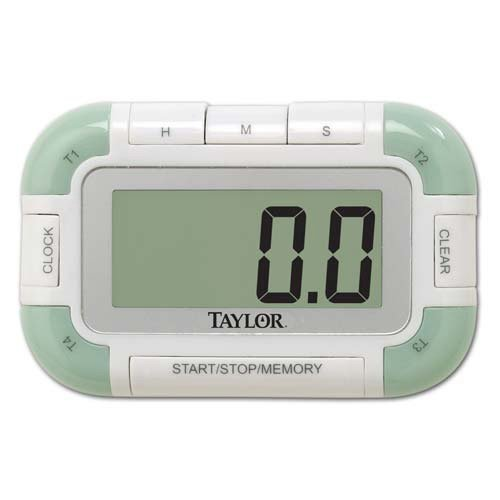 (Taylor 5862 Digital Kitchen Timer with Clock 100 Hour)