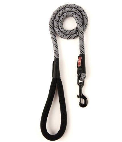 Kong Reflective Rope Leash Grey