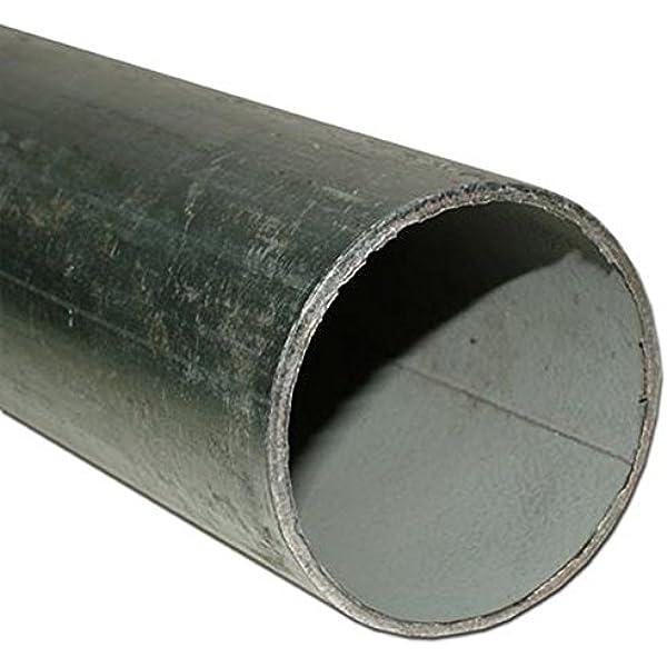 Rohn 160505GHS 16 Gauge Steel Mast Pipe with Locking Joints ROHN 5 Steel Tubing