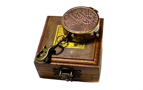 Sailor's Art Antique Brass Compass 2