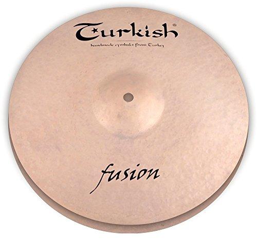 Turkish Cymbals Jazz Series 14-inch Fusion Hi-Hat Cymbal FS-H14