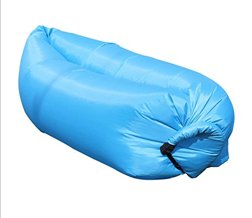 Hhobake Air Sofa,Inflatable Lounger,Lazy Sofa,Air Bag,Indoor Outdoor Sleeping bed, Second Generation New Design,Easier Inflatable Than First Generation,Portable For Camping,Hiking,Fishing