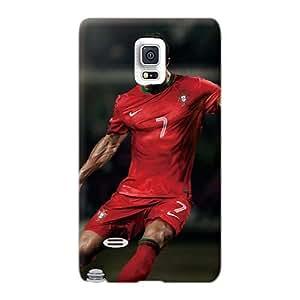Samsung Galaxy Note 4 ZCN776zKzC Custom High-definition Cristiano Ronaldo Portugal 2013 Skin Protector Hard Phone Covers -WayneSnook