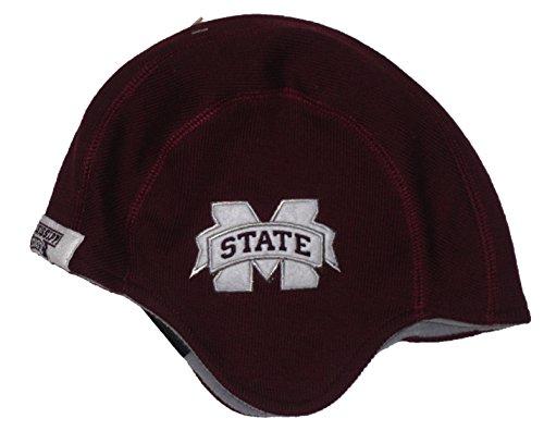 Mississippi State Old School Helmet Beanie Hat