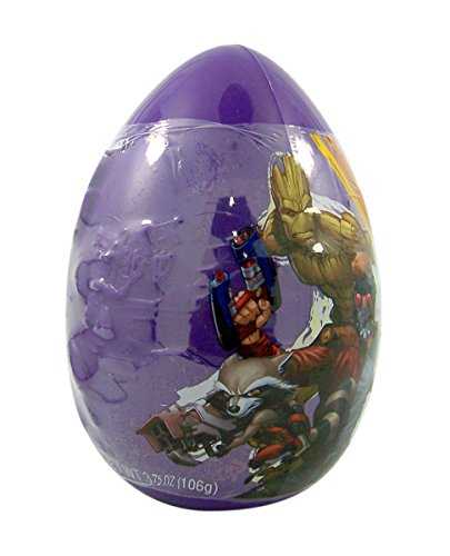 Marvel Guardian of the Galaxy Giant Easter Egg Assorted Candy Mix, ()