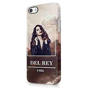 Lana Del Rey 1986 Trippy Clouds iPhone 5, iPhone 5S Hard Plastic Phone Case Cover