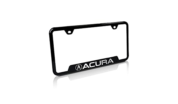 Automotive Gold Laser Etched Textured Black The Few The Proud Cut-Out Frame
