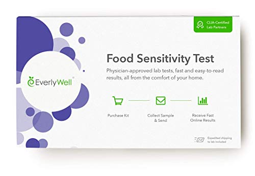 (EverlyWell - at-Home Food Sensitivity Test- Learn How Your Body Responds to 96 Different Foods (Not Available in MD,New York, NJ, RI))