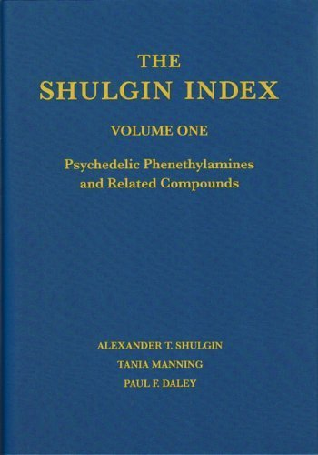 The Shulgin Index, Volume One: Psychedelic Phenethylamines and Related Compounds by Shulgin, Alexander T., Manning, Tania, Daley, Paul F.(March 7, 2011) Hardcover