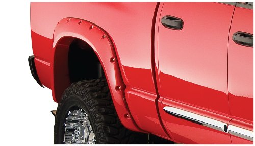 - Bushwacker 50018-02 Dodge Pocket Style Fender Flare - Rear Pair
