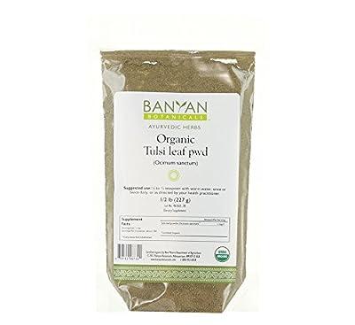 Banyan Botanicals Tulsi Powder - USDA Organic - Ocimum sanctum - Holy Basil - Ayurvedic Adaptogen*