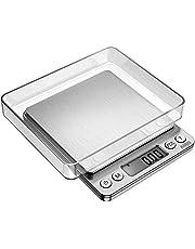 Bilancia digitale, 500 g/0.01g professionale Bilancia di precisione/Pesalettere/Bilancia per oro/Bilancia tascabile, molto preciso,  Wake Up Easy, Pocket Scale