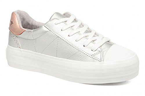 Silver 38 Talla Zapatos Tilly COOLWAY xpB8FEqnw