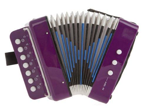 D'Luca Child Button Accordion Purple G105-PR by D'Luca
