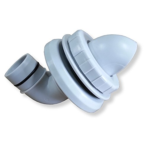 PolyGroup Summer Escapes & Summer Waves Complete Pump Water Return Fitting - 1.25 inch Inlet ()