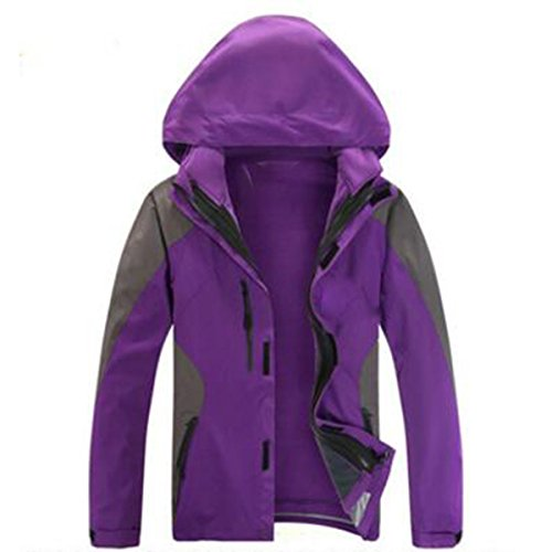 Fodera Liner In Warm Ladies Alpinismo Velluto Three One Purple Giacche xqXIA7