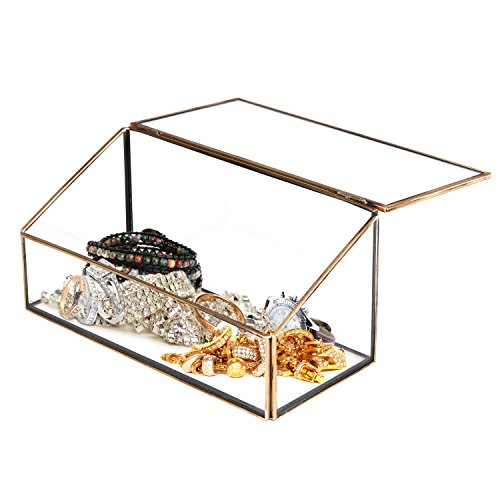 Decorative Slanted Jewelry Storage Display