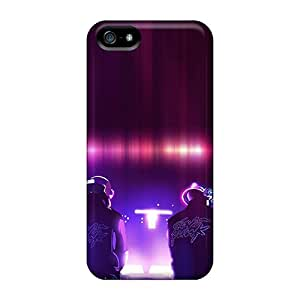 Perfect Cell-phone Hard Covers For Iphone 5/5s (UTu17686DuUC) Support Personal Customs Trendy Daft Punk Skin