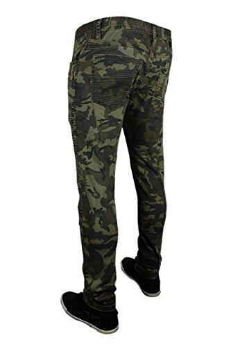 fit deportivo ropa elastica color Casual verde Hombre designer Jeans rock 6273101 retro moda trueprodigy 0629 tejanos vestir Pantalon vintage slim vaquero Khaki fashion marca cool urban denim wXpZ7nwYq